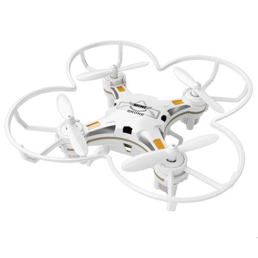White Pocket Drone Quadcopter