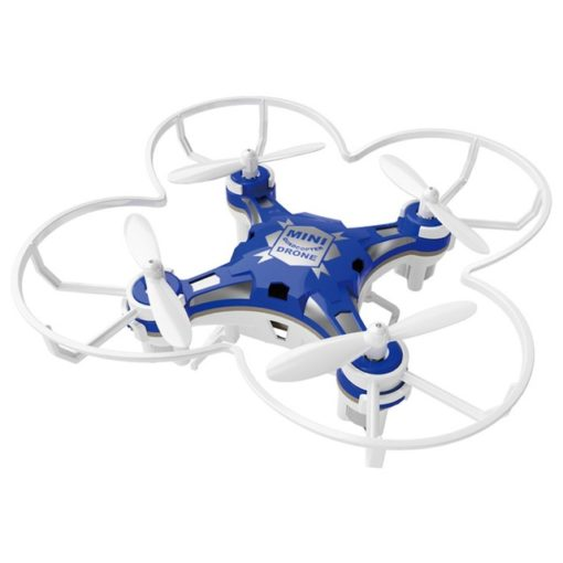Blue Mini Pocket Drone Quadcopter